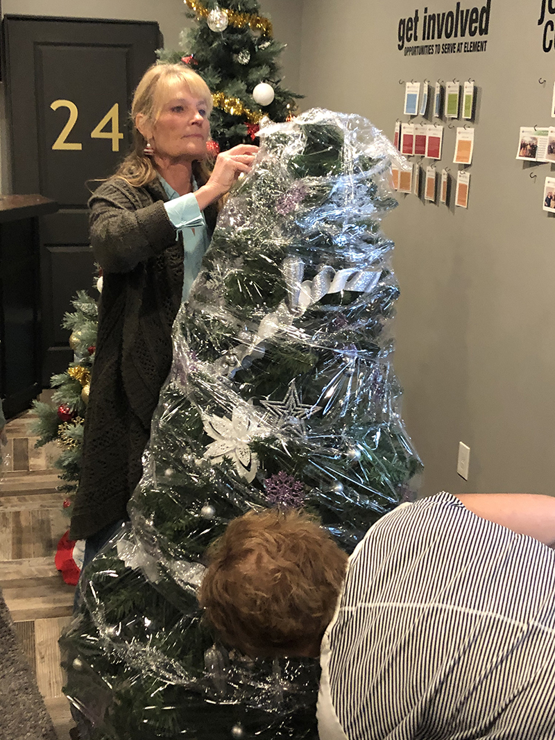 Tree Wrapping 2