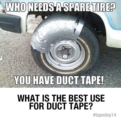 What Is the Best Use For Duct Tape?