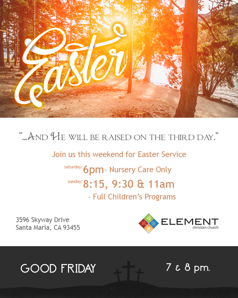 Join us for Easter Services