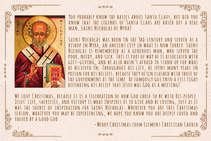 A Little about Saint Nicolus