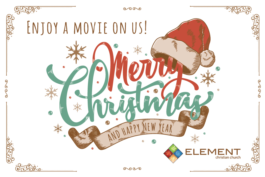 Merry Christmas from Element Christian Church!